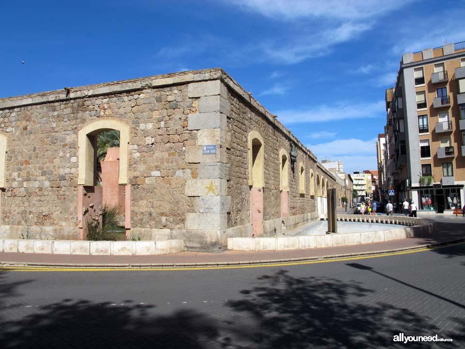 Calles de Cartagena. Plaza  Juan XXIII
