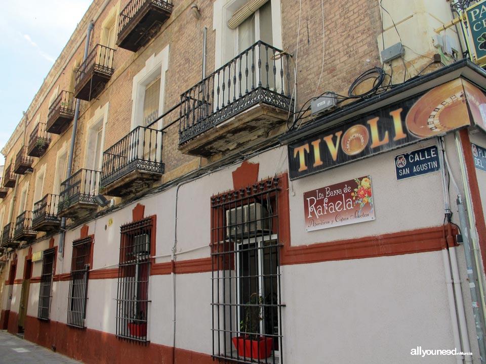 Calles de Cartagena. Calle San Agustín
