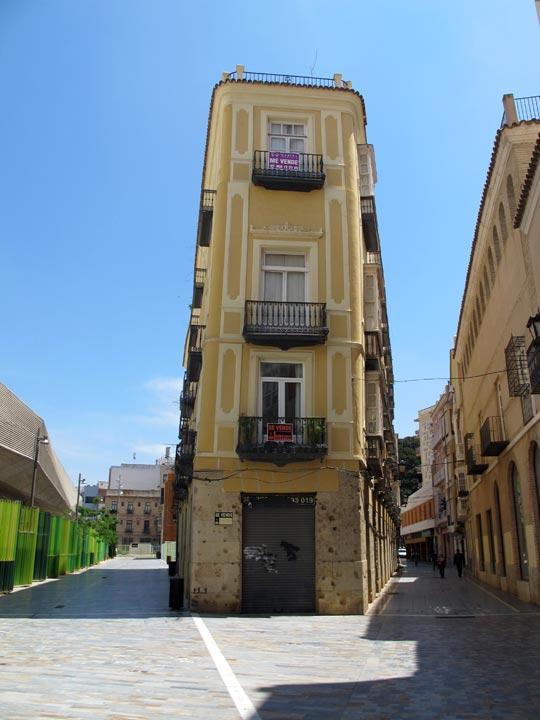 Calles de Cartagena. Calle Balcones Azules
