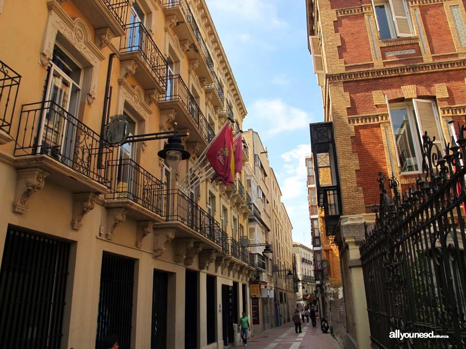 Calles de Cartagena. Calle Caballero