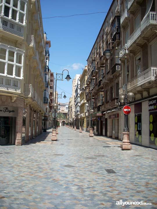 Calles de Cartagena. Calle Florentina