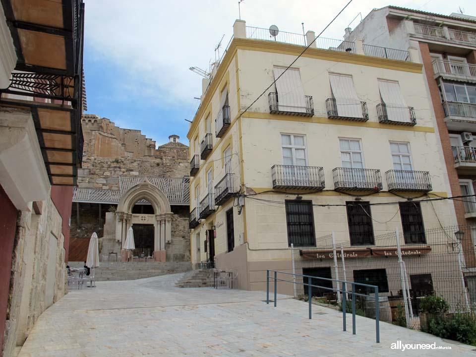 Calles de Cartagena. Calle Cuesta Baronesa