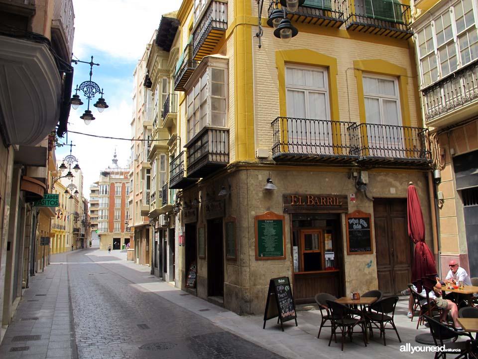 Calles de Cartagena. Calle del Aire