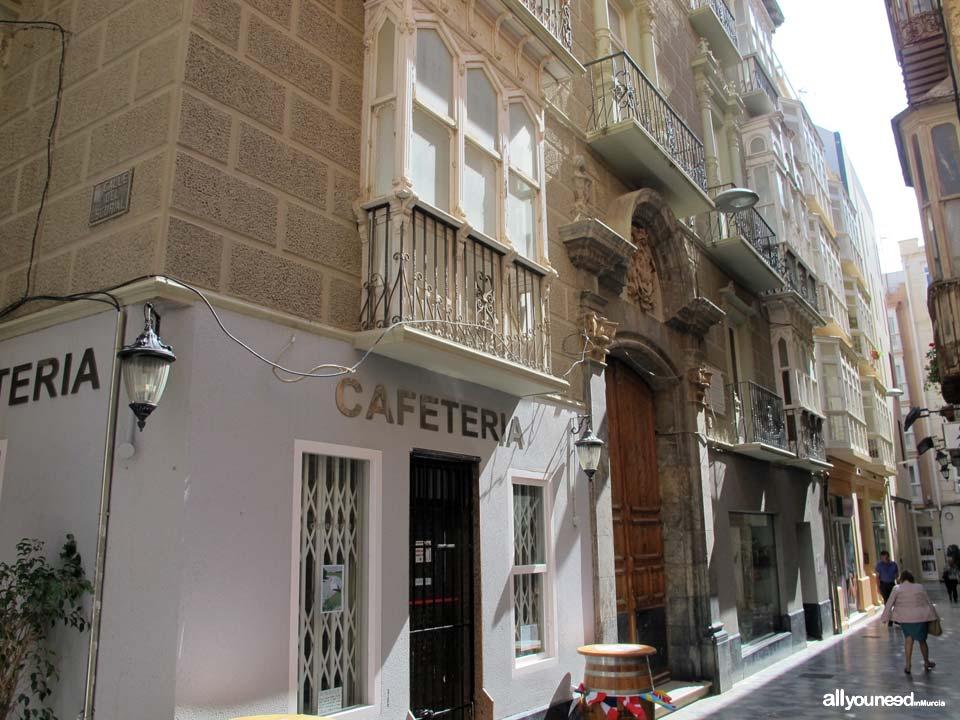 Calles de Cartagena. Calle Medieras