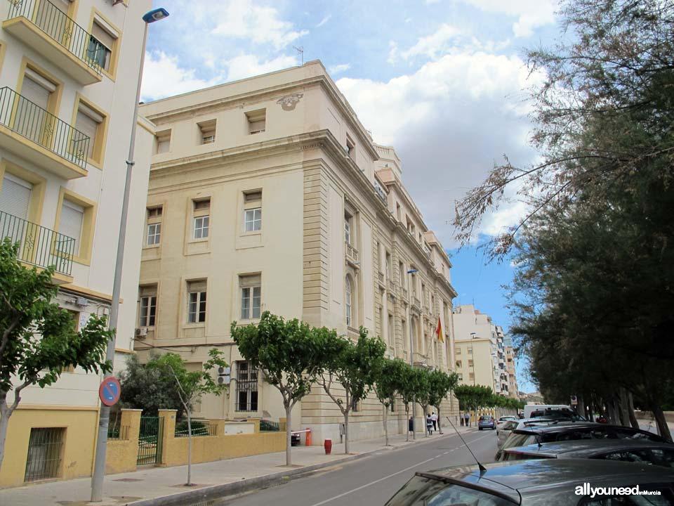 Calles de Cartagena. Calle Muralla del Mar
