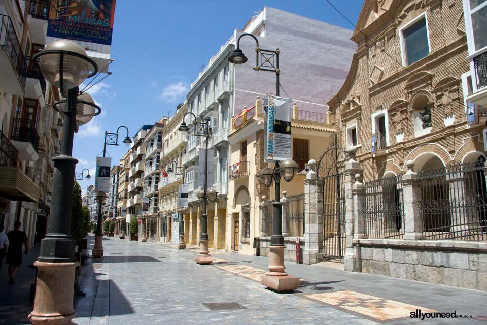 Calles de Cartagena. Calle Carmen