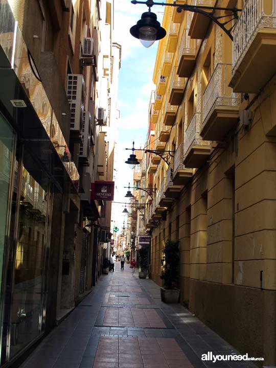 Calles de Cartagena. Calle San Fernando