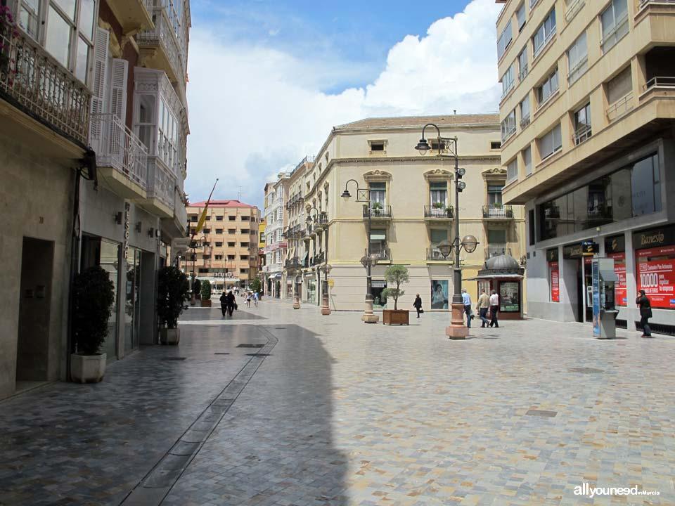 Calles de Cartagena. Calle Puerta de Murcia