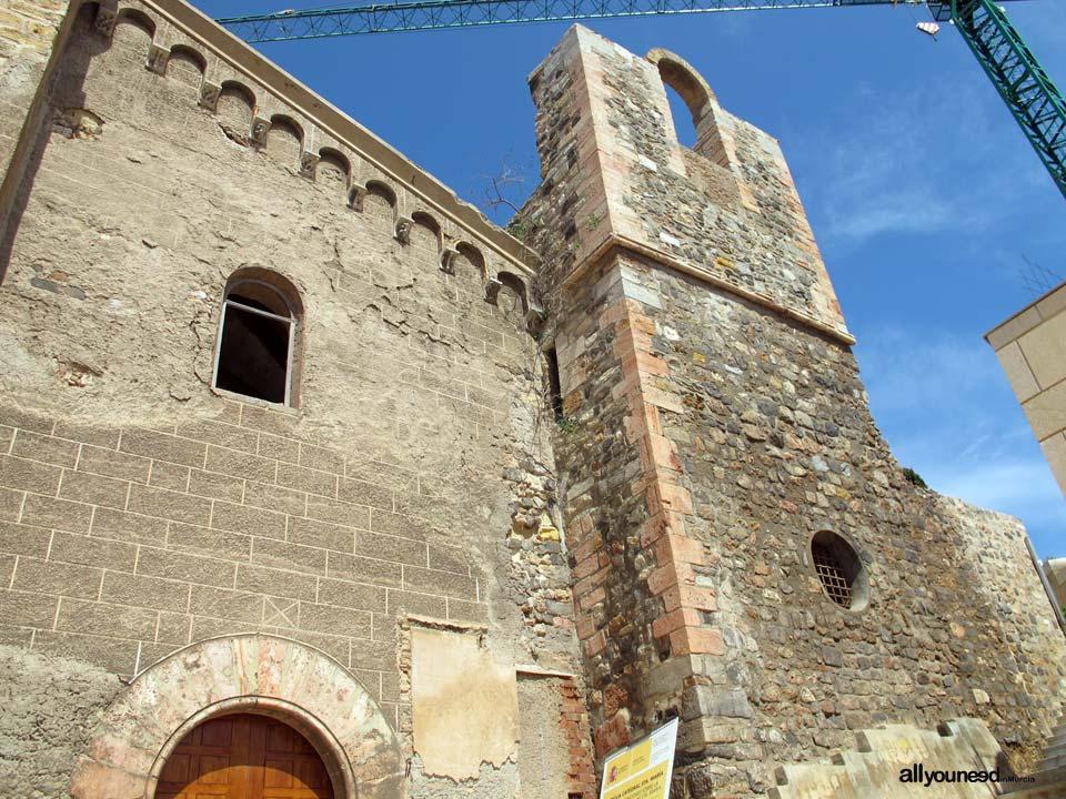 Santa Maria la Vieja Cathedral in Cartagena
