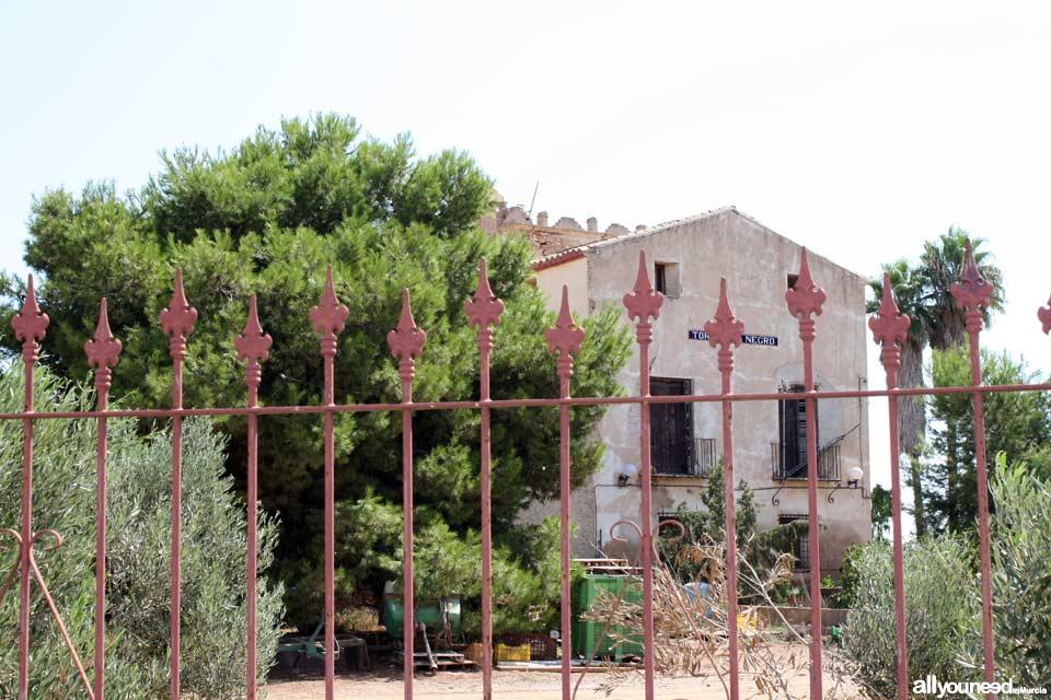 Torre del Negro en la zona de los Urrutias