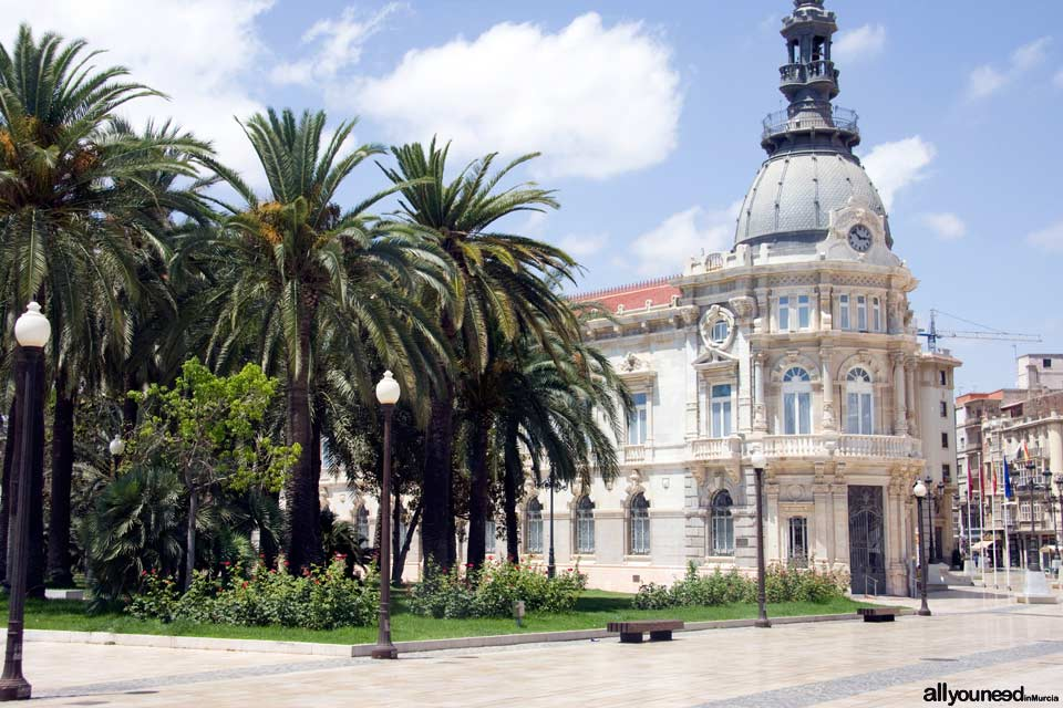 Cartagena Point Town Hall. Tourist Information
