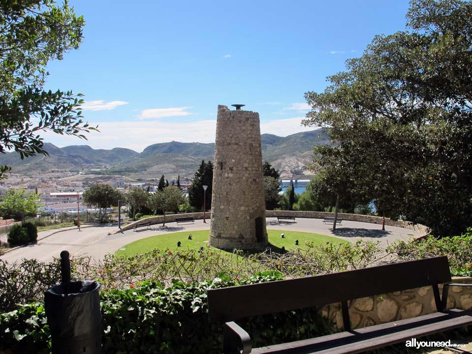 Parque Torres en Cartagena. Disfrutar de unas magníficas panorámicas de Cartagena