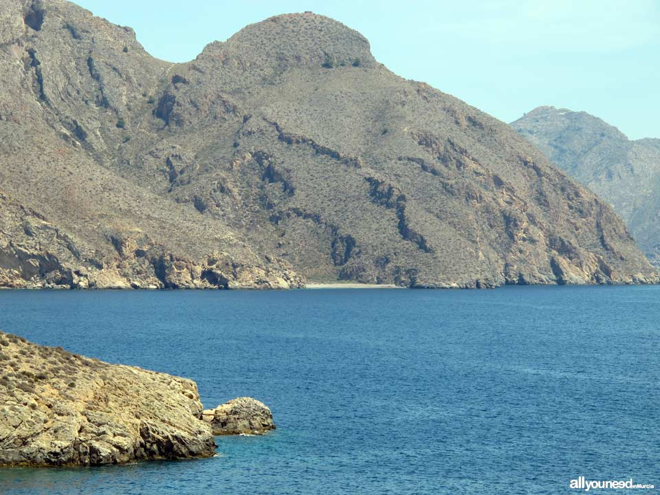 Aguilar Cove in Cabo Tiñoso. -Cartagena- Spain
