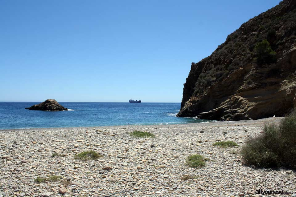 Cala Bolete Grande en Cabo Tiñoso