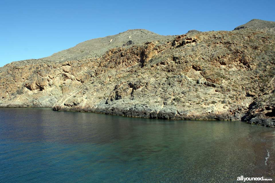 Cerrada Cove. Cope Cape