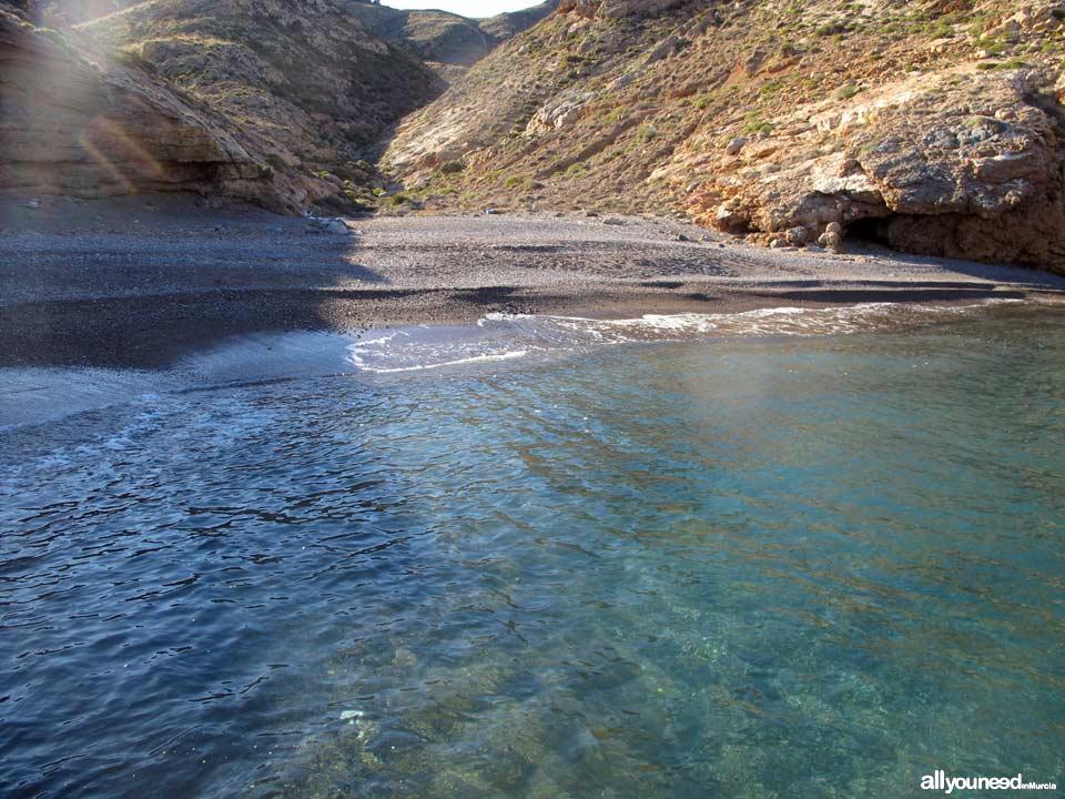 Cala Salitrona en Cabo Tiñoso
