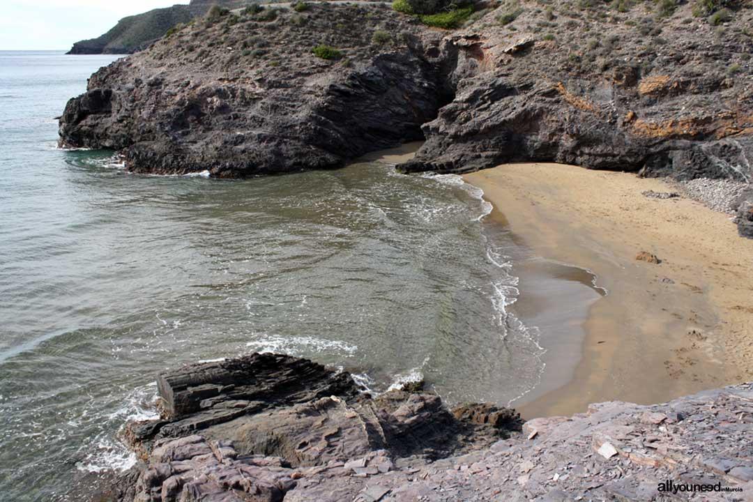 Cala de Huncos. Playas de Calblanque. Murcia