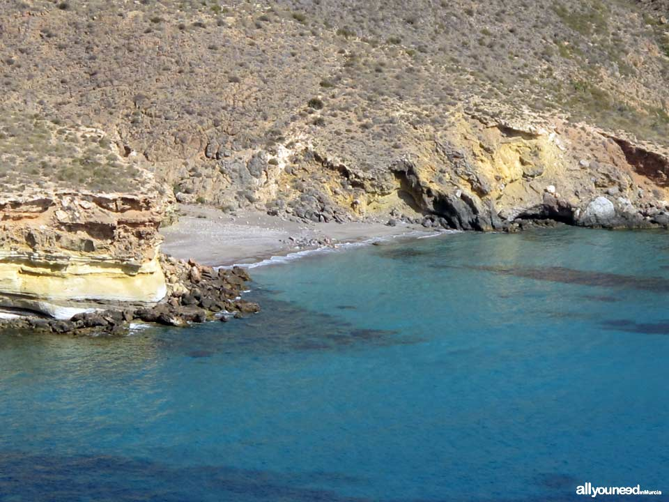 Pozo de la Avispa Cove in Tiñoso Cape
