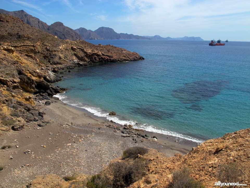 Cala Pozo de la Avispa en Cabo Tiñoso