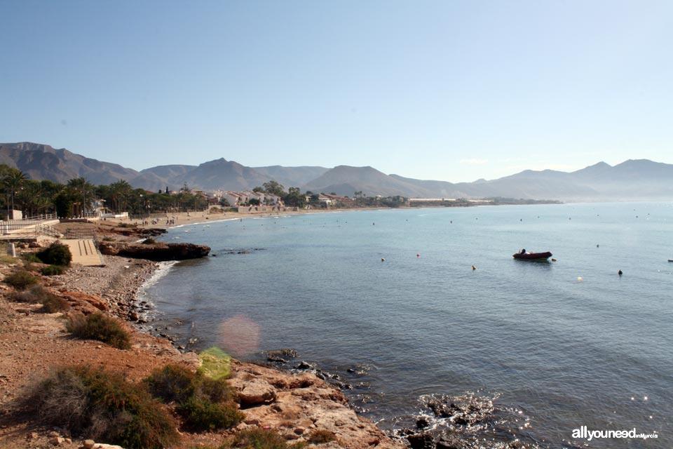 Isla Plana Beach