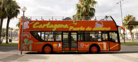 Tourist Bus in Cartagena