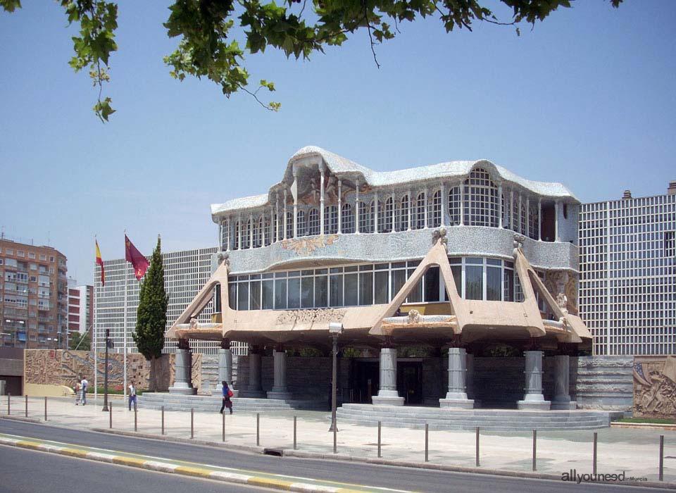 Edificio Asamblea Regional de Murcia de Cartagena