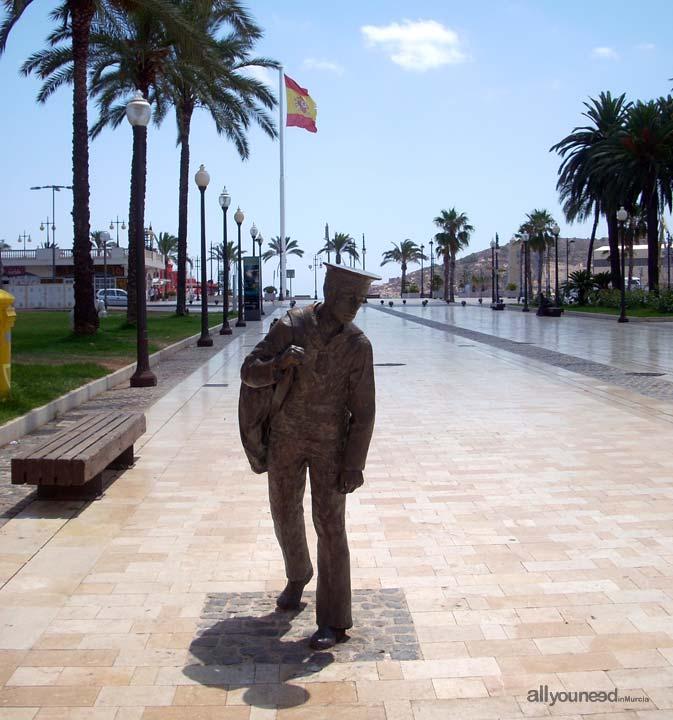 Marinero en el Puerto de Cartagena
