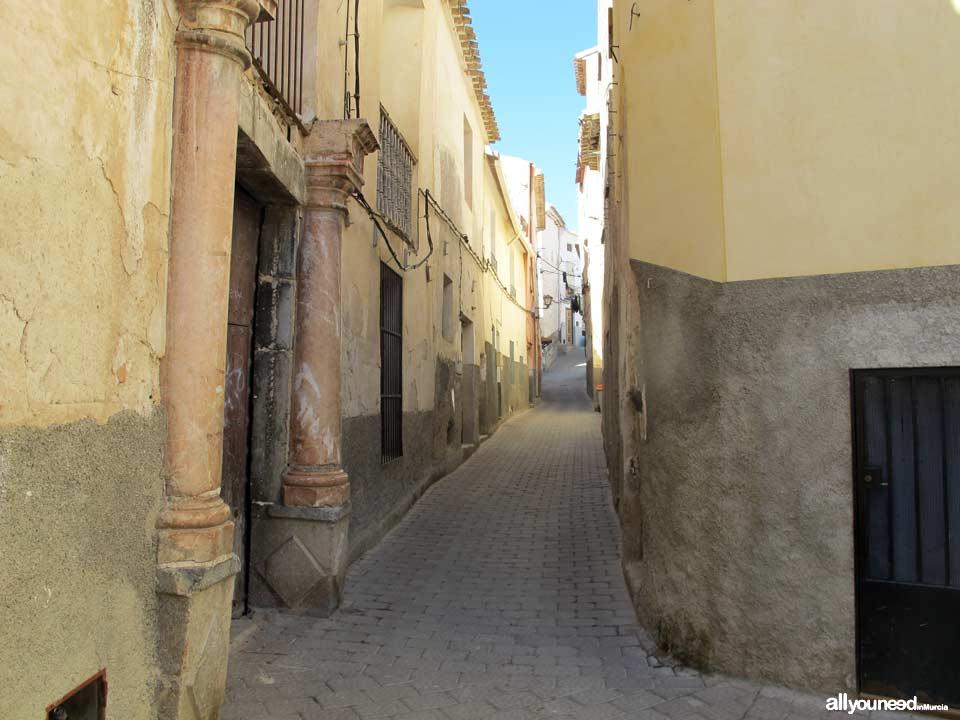Calle de las Columnas