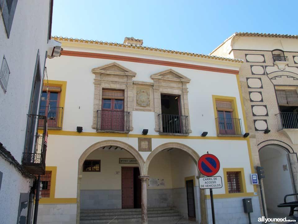 Casa del Concejo. Museo Arqueológico de Cehegín