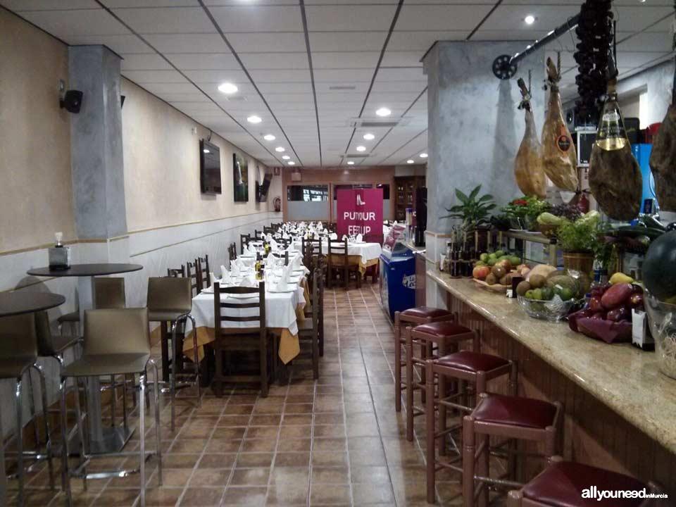 Restaurante casa carre o en cieza for Restaurante casa jardin murcia