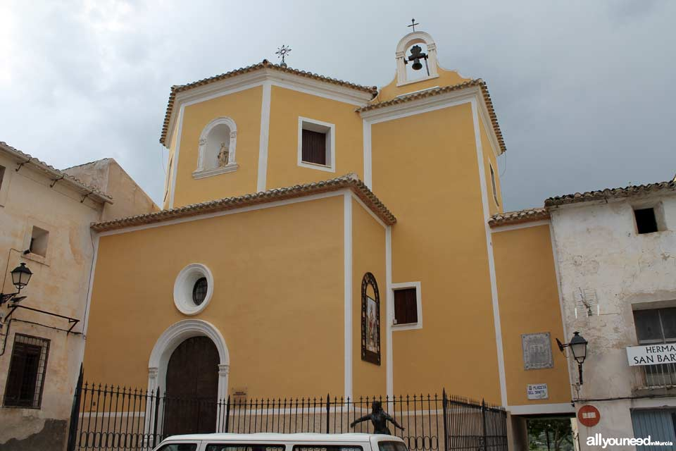 San Bartolomé Church. Cieza