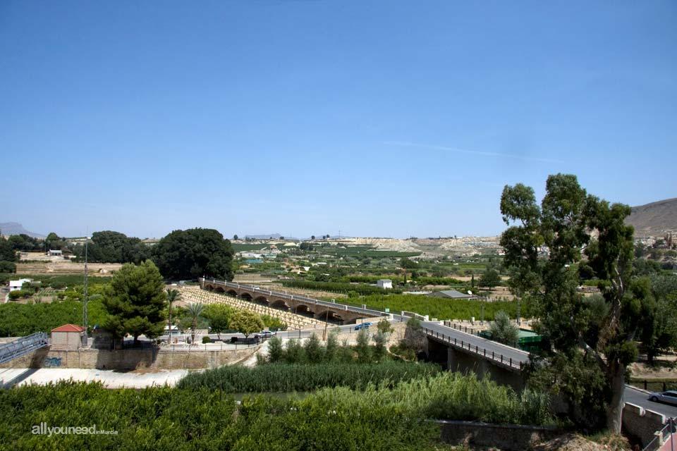 Vista de la Huerta en Cieza
