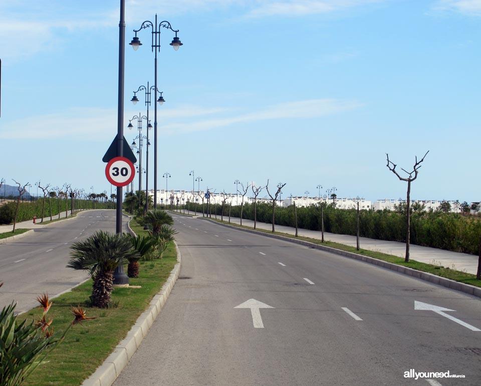 Condado de Alhama. Campo de golf  en Murcia. España