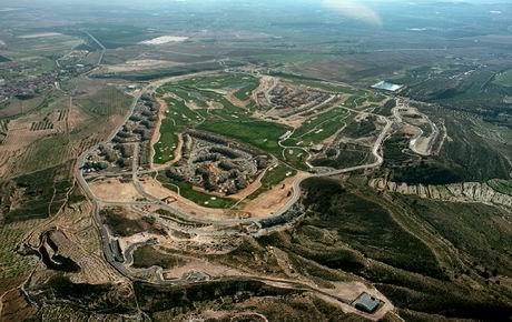 Golf. urbanización con campo de golf en Murcia -España-