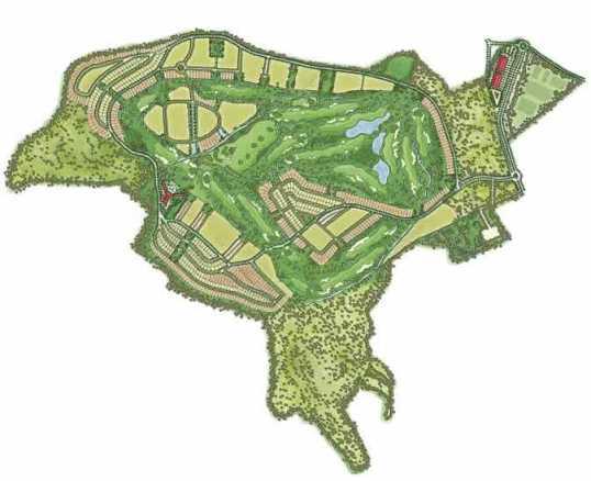 Corvera Golf. Golf. urbanización con campo de golf en Murcia -España-. Campo de golf