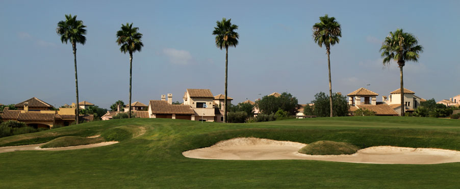 Hacienda del Álamo Golf Resort. Campos de Golf en Murcia -España-