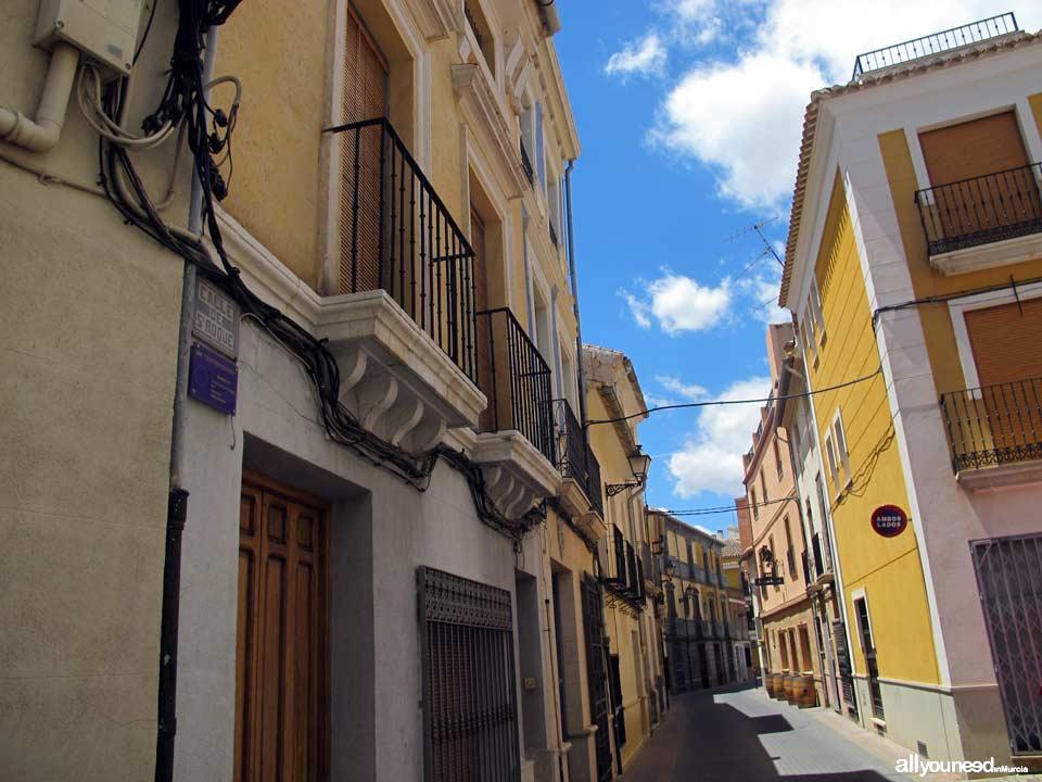 Calle San Roque de Jumilla