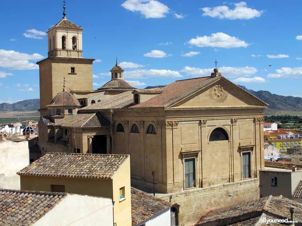 Parroquía Mayor de Santiago de Jumilla