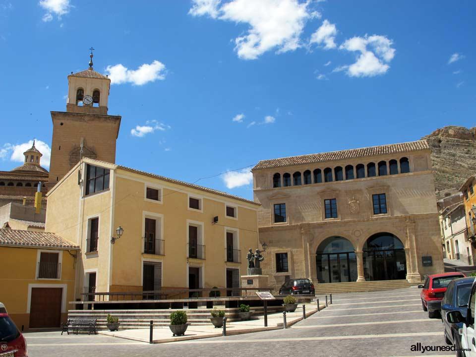 Plaza de Arriba. Posada y el Palacio del Concejo de Jumilla