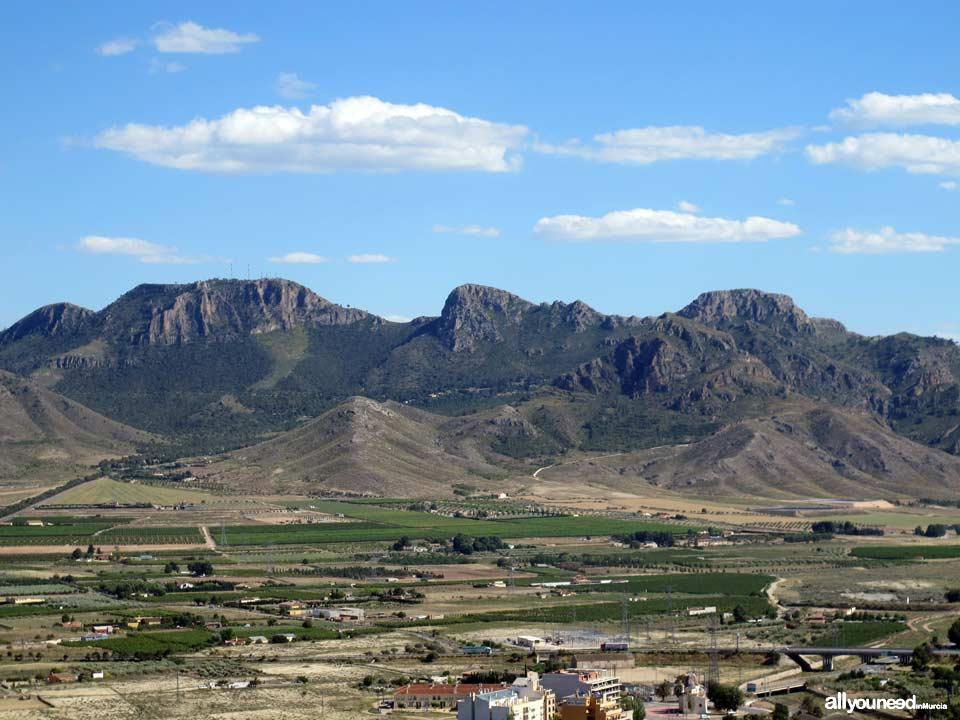 Sierra de Santa Ana La Buitrera de Jumilla