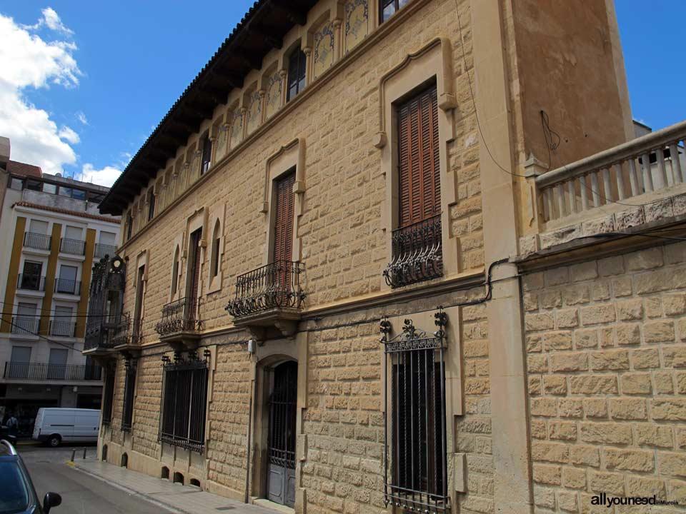 Casa Modernista en Jumilla