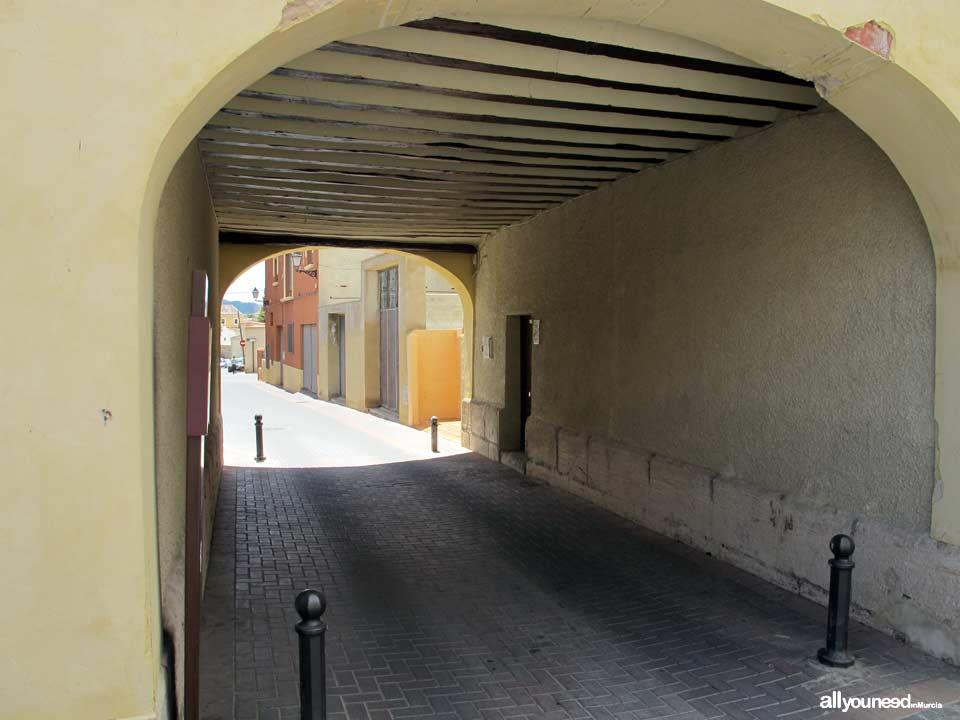 Arco de San Roque-Puerta de Granada