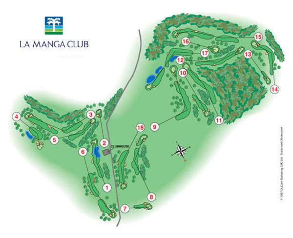 La Manga Club. West course