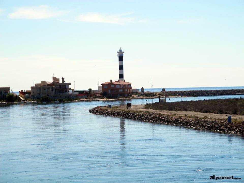 Faro del Estacio de la Manga del Mar Menor