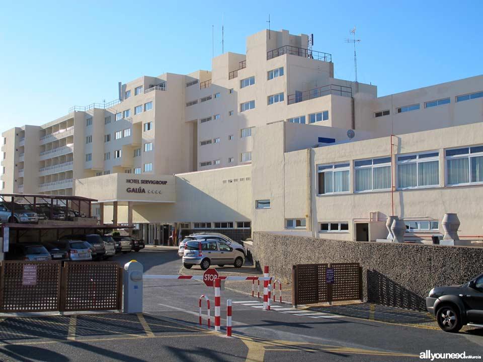 Hotel Galua en La Manga del Mar Menor