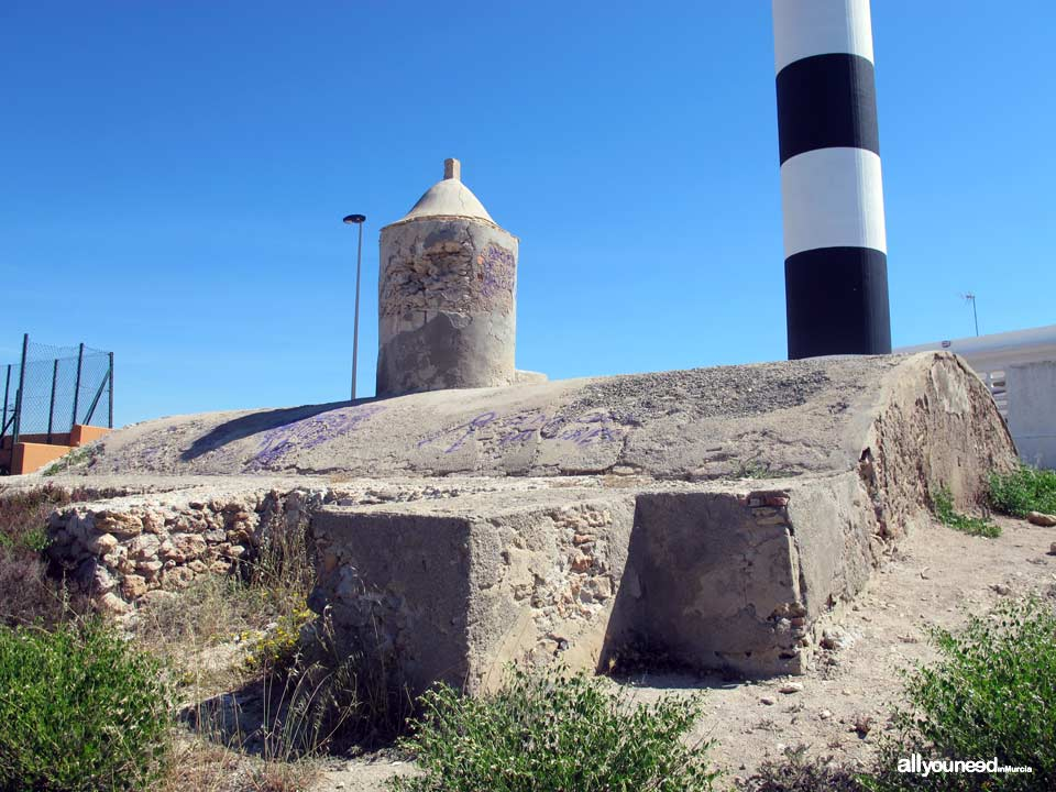 Faro del Estacio in La Manga del Mar Menor