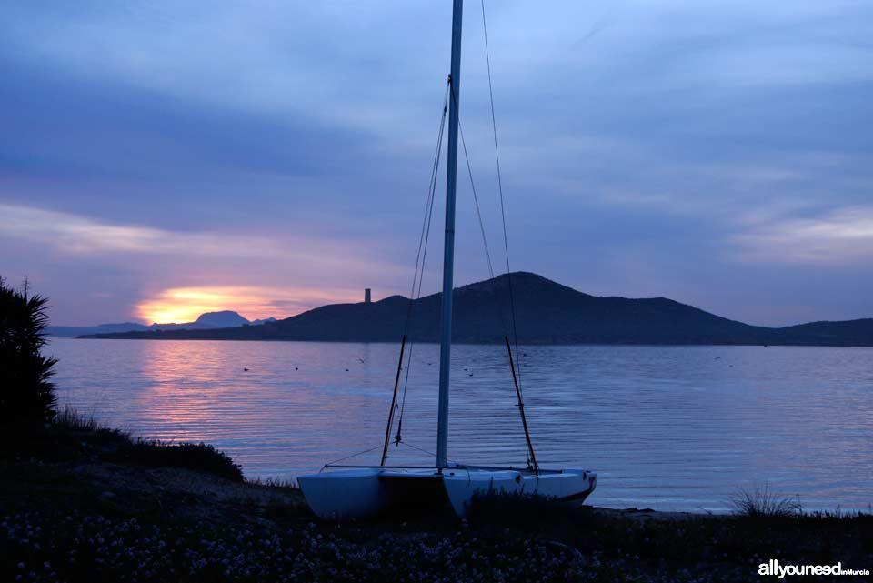 Isla del Barón de la Manga del Mar Menor