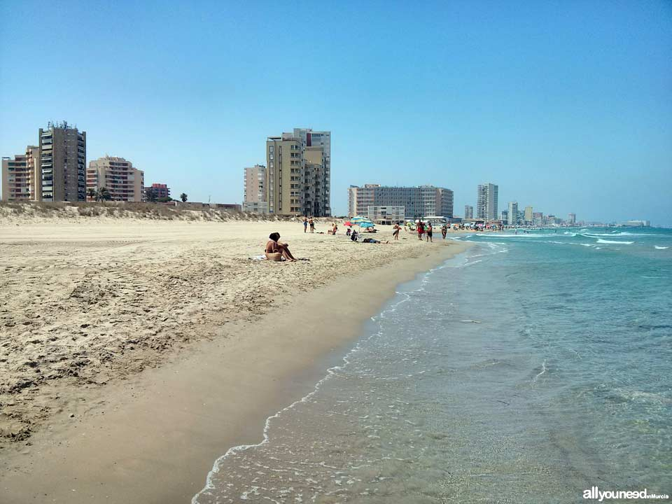 Playa de las Amoladeras. Mar Mediterráneo