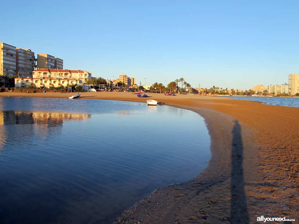Dársena dos Mares Beach / Bahia de las Palmeras Beach