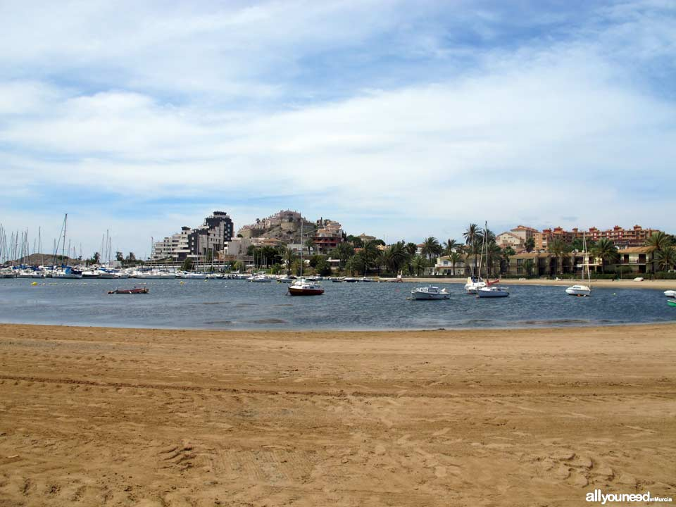 Playa Dársena dos Mares / Bahia de las Palmeras